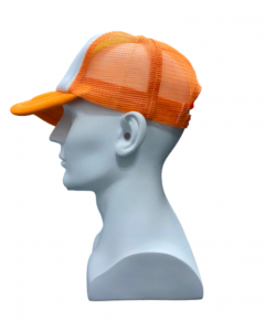 Orange Mesh Cap