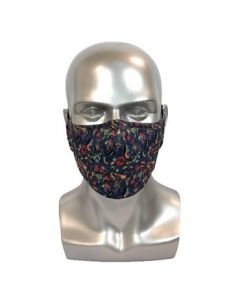 Batik Blue Adult Reusable Mask