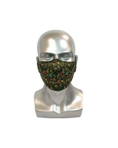 Batik Green Adult Reusable Mask