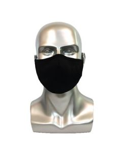 Black Adult Reusable Mask